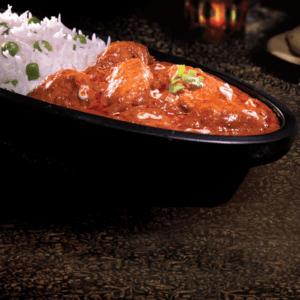 Our Butter Chicken with Peas Pilaf at Al Safa Foods are marinated boneless chicken simmered in rich buttery gravy, gluten free with 0 trans fats.