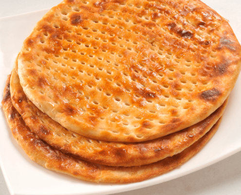 In our line of flatbreads, our authentic handmade Sheermal at Al Safa Foods is suitable for vegetarians and trans fat free.