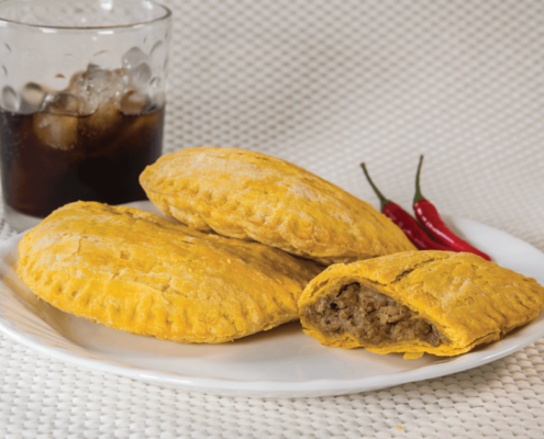 Our Spicy Jamaican Style Beef Patties at Al Safa Foods are individually wrapped, has a flaky crust and is ready in just two minutes.