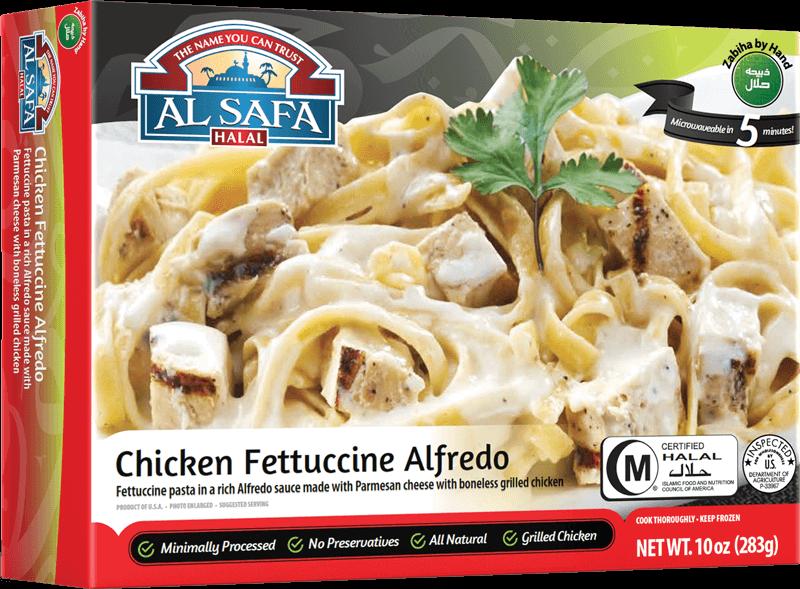 Halal Chicken Fettuccine Alfredo Al Safa Halal