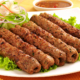 Charcoal Beef Seekh Kebab